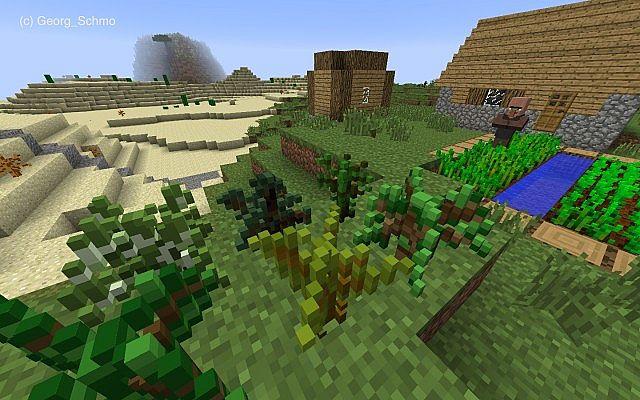 16X] 3D NATURE PACK v2.2 (π-Day Update + 1st 3D Items) Minecraft ...