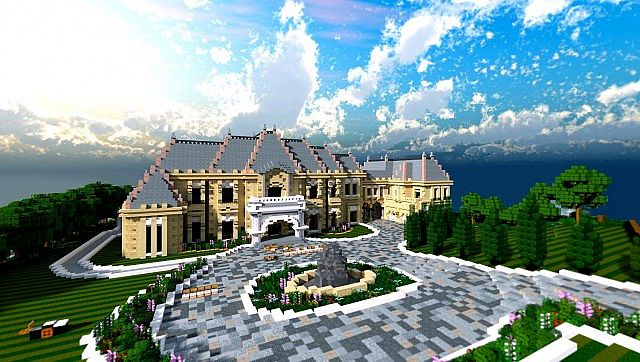 Chateau Mansion Tbs Application Minecraft Project
