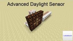 Advanced Daylight Sensor Minecraft Map & Project