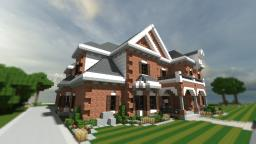 New American House | TBS | WoK Minecraft Map & Project