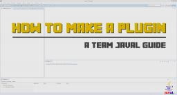 How to make a Minecraft plugin / Introduction / Tutorial Series Minecraft