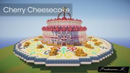 Cherry Cheesecake | Fun Mini Spawn/Arena Structure | Minecraft Map & Project