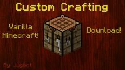 [Invention] Custom Crafting Recipes!  (for adventure maps) Minecraft