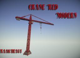 Crane Red Modern Minecraft