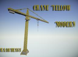Crane Yellow Modern Minecraft