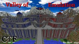 Capture the Flag Arena- Valley of Emulation (Clash Valley) Minecraft Map & Project