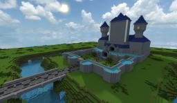 Hyrule Castle - (Legend of Zelda: Link Between Worlds) Minecraft Project