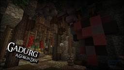 Gadurg - A Goblin Den Minecraft Map & Project
