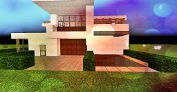 Modern House By ProPanuu Minecraft Map & Project