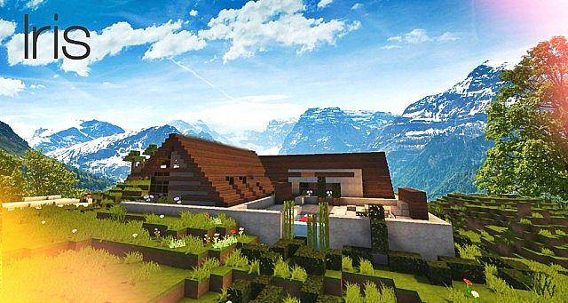 Iris   a concept home   pop reel Minecraft Project
