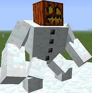 Minecraft Mutant Snow Golem Papercraft   www.pixshark.com ...