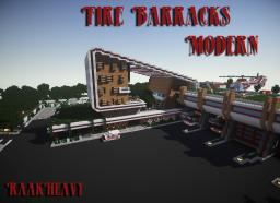 [PROJET Fire Barracks Modern] Minecraft Project
