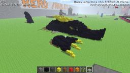 Classic 3D Dragon Pixel Arts Minecraft Map & Project