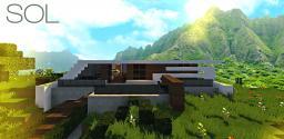 Sol   a minimalist modern home (pop reel) Minecraft Map & Project