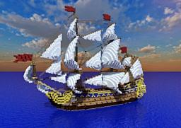 ship - Le Soleil Royal Minecraft Map & Project