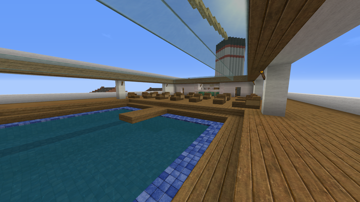 Outside swimming pool and Carpe Diem bar