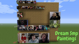 Dream Smp Paintings Minecraft Texture Pack