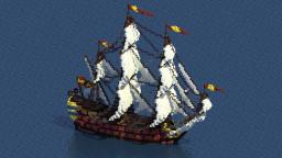 San Carlos (1724) - Spanish 3rd rate - Minecraft