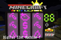 100% functional digital Slot Machine ! ( Spoiler V2 ) Minecraft