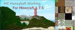 MK Honeyball Minecraft 1.7.4/1.7.5 Minecraft Texture Pack
