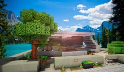 | Siop | Contemporary house | [download] Minecraft Map & Project