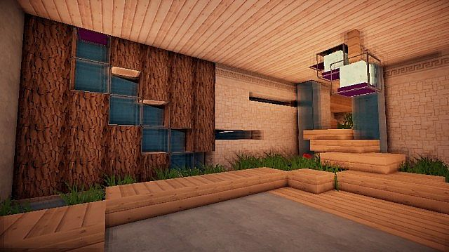 Modern Underground House Minecraft Project