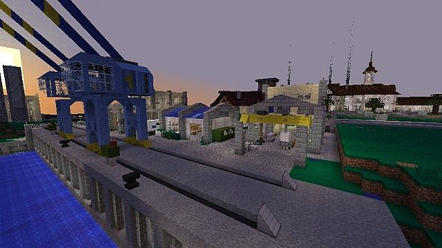 Giant Modern Harbour Smp Closed Minecraft Project