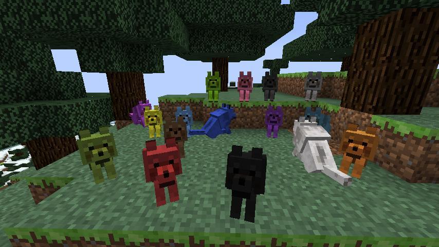 Mo Creatures Big Cat   Glitch