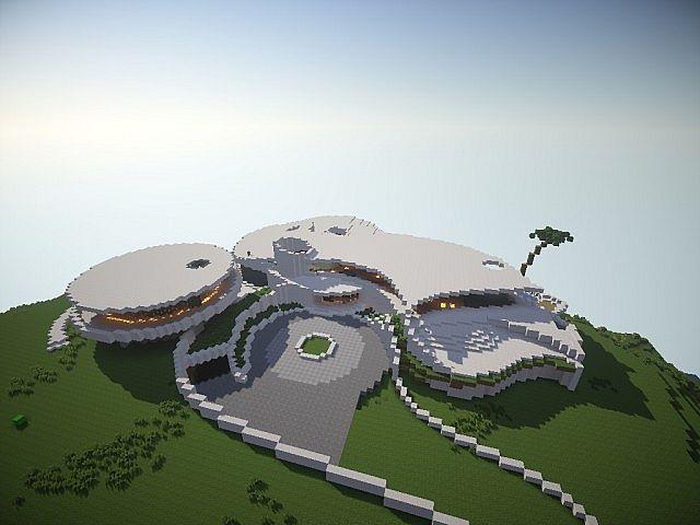 Tony Stark Mansion 2014 Minecraft Project