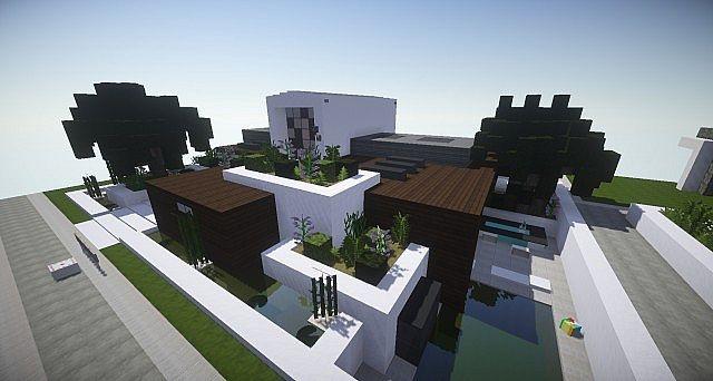 Small modern house WoK Keralis showcase Minecraft Project