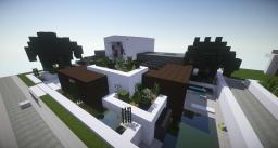 Small modern house | WoK | Keralis showcase Minecraft Map & Project