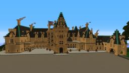 Biltmore Mansion Schematic Out ! Full Interior Minecraft Map & Project