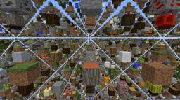 SkyGrid for 1.7 Minecraft Map & Project