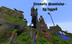Dramatic mountains~ Minecraft Map & Project