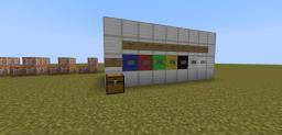 Bow Paint [Redstone Contraption] Snapshot 14w11b Minecraft Map & Project