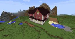 Halliwell Manor Minecraft Map & Project