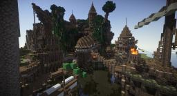 Rustic Pirate Port Minecraft Map & Project