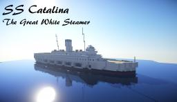 The Great White Steamer (SS Catalina) Minecraft Map & Project