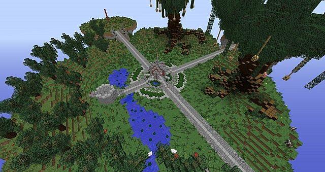 Best Insel Minecraft Maps Projects Planet Minecraft - Minecraft server lobby erstellen