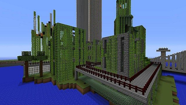 Abandoned Island New York Minecraft Project