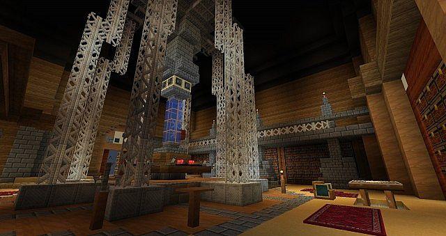 8th TARDIS Control Room 2 by Drakelx555