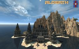 Alderth - Fantasy Build with custom terrain Minecraft