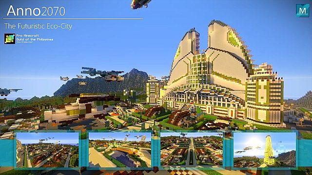 Minecraft anno2070 futuristic eco city minecraft project minecraft anno2070 futuristic eco city gumiabroncs Images
