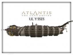 The Ulysses Submarine - ATLANTIS The Lost Empire - Ninaman Minecraft Project