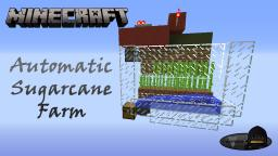 Minecraft: Automatic Sugarcane Farm Minecraft Project