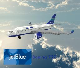 JetBlue - Boeing 737 Minecraft Map & Project