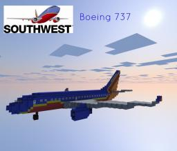 Southwest - Boeing 737-300 Minecraft Map & Project
