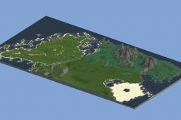 The continent of Horandrous Minecraft Map & Project