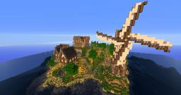 Medieval Island with Temple/Library by Adeptx3 Minecraft