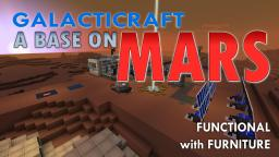 A base on Mars for Galacticraft Minecraft Map & Project